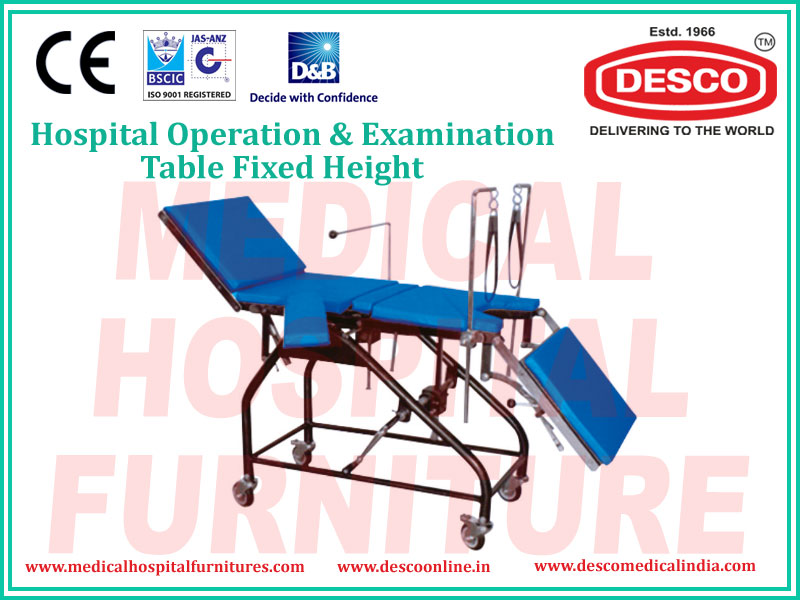 OPERATION & EXAMINATION TABLE FIXED HEIGHT