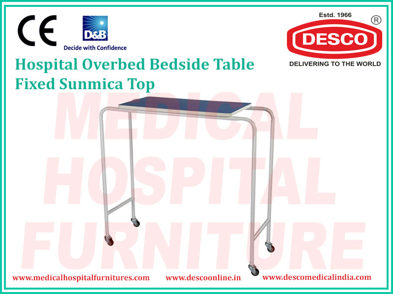 FIXED OVERBED TABLE
