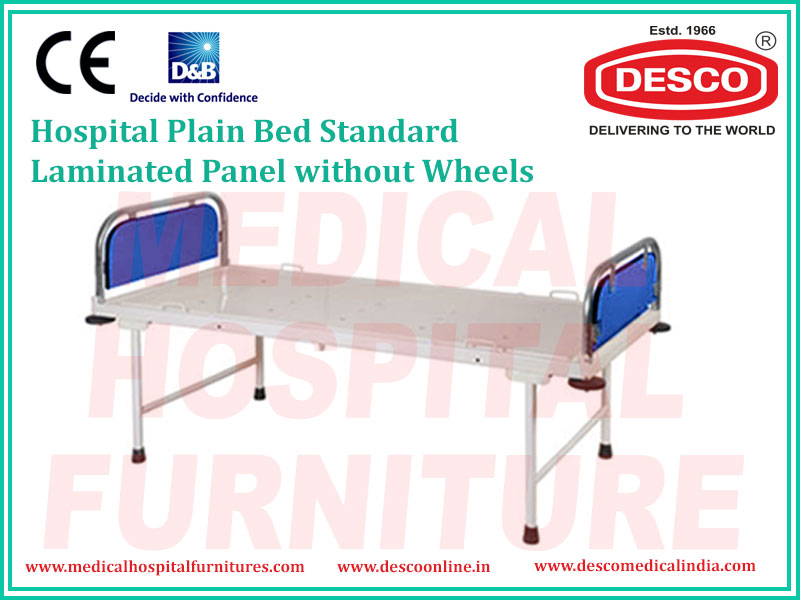 PLAIN BED STANDARD LAMINATED PANEL WITHOUT WHEELS