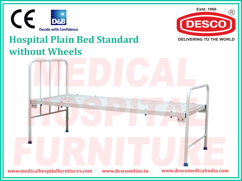 PLAIN BED STANDARD WITHOUT WHEELS