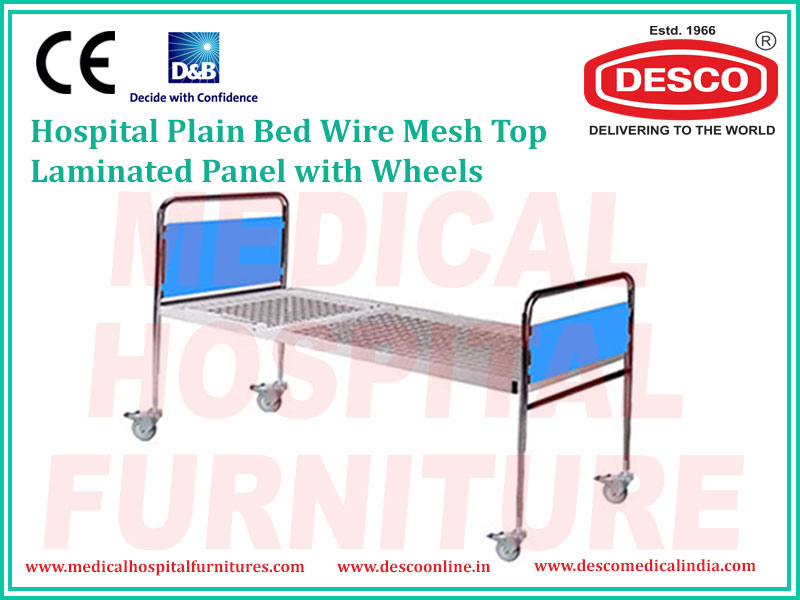 PLAIN BED WIRE MESH TOP LAMINATED PANEL