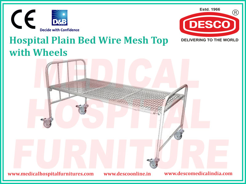 PLAIN BED WIRE MESH TOP