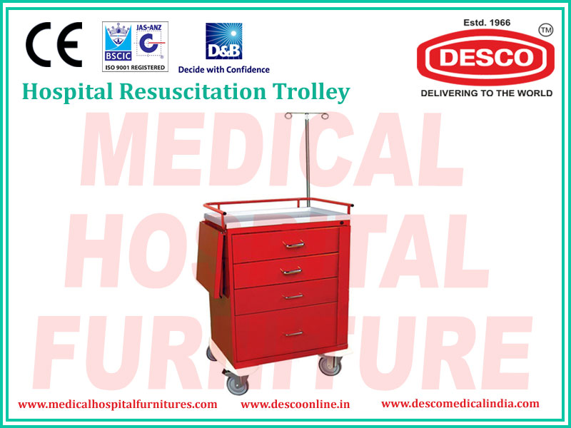 RESUSCITATION TROLLEY