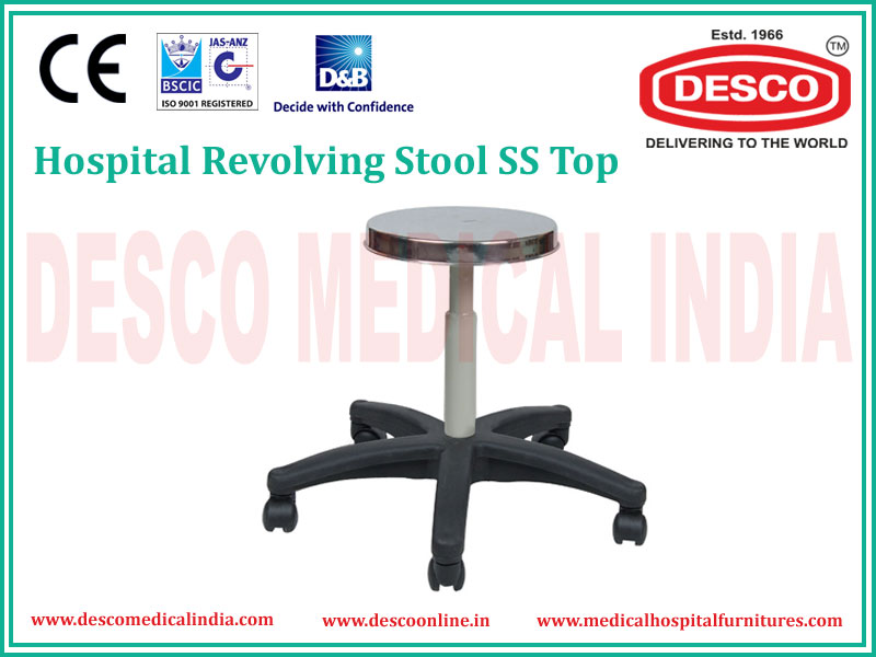Hospital Revolving Stool Manufacturers Exporters