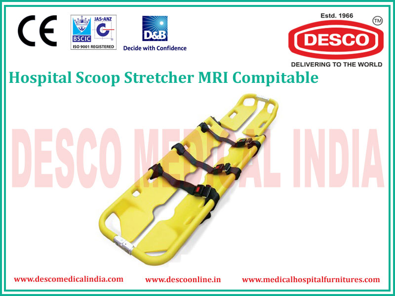 MRI SCOOP STRETCHER