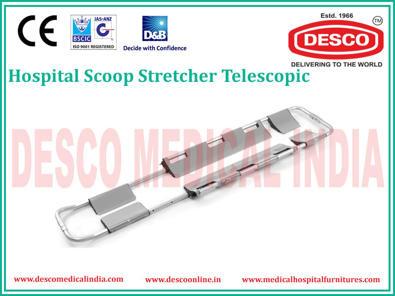 TELESCOPIC SCOOP STRETCHER