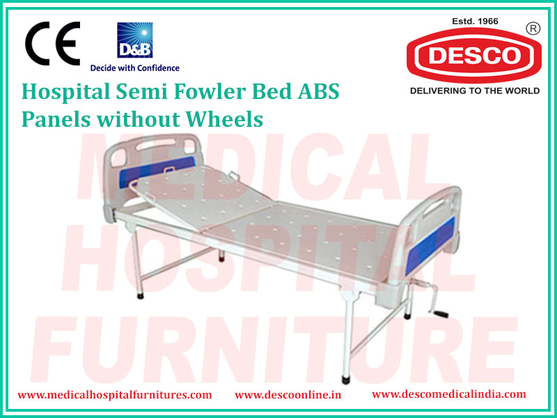 SEMI FOWLER BED ABS PANELS WITHOUT WHEELS
