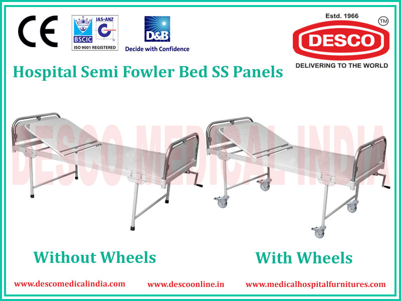SEMI FOWLER SS PANEL BED