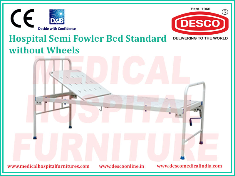 SEMI FOWLER BED STANDARD WITHOUT WHEELS