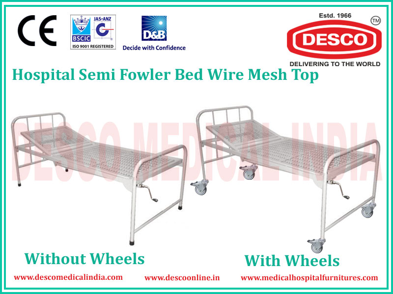 SEMI FOWLER WIRE MESH BED
