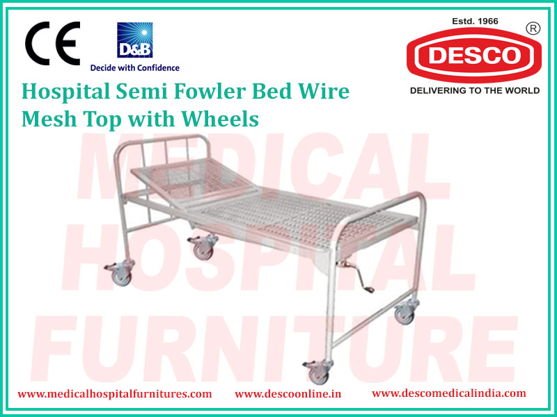 SEMI FOWLER BED WIRE MESH TOP