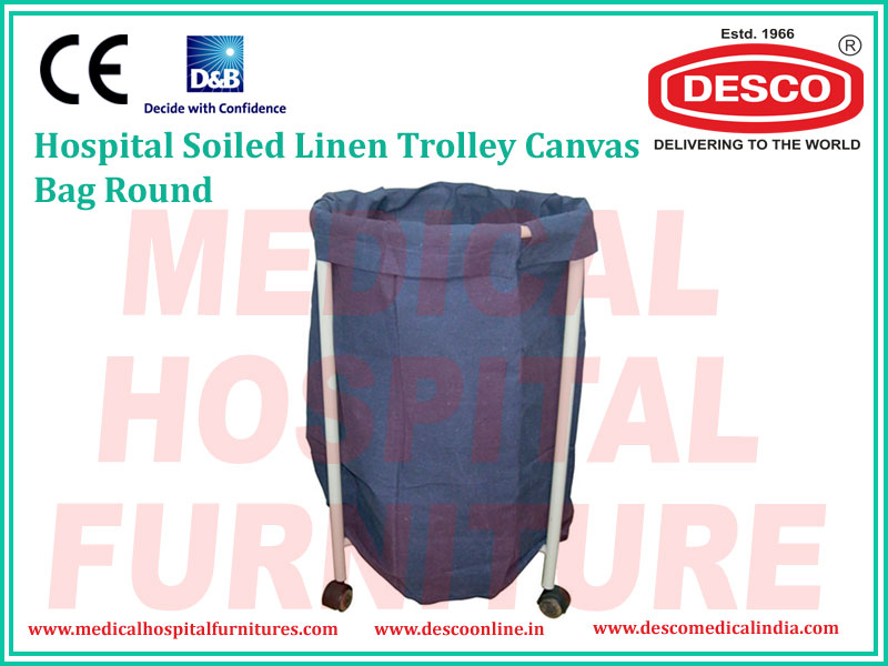 SOILED LINEN TROLLEY CANVAS BAG