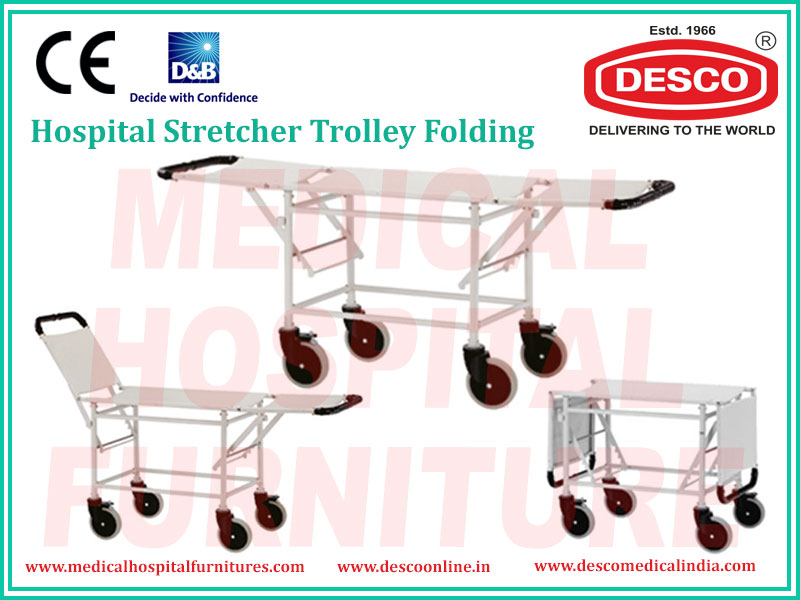 STRETCHER TROLLEY FOLDING