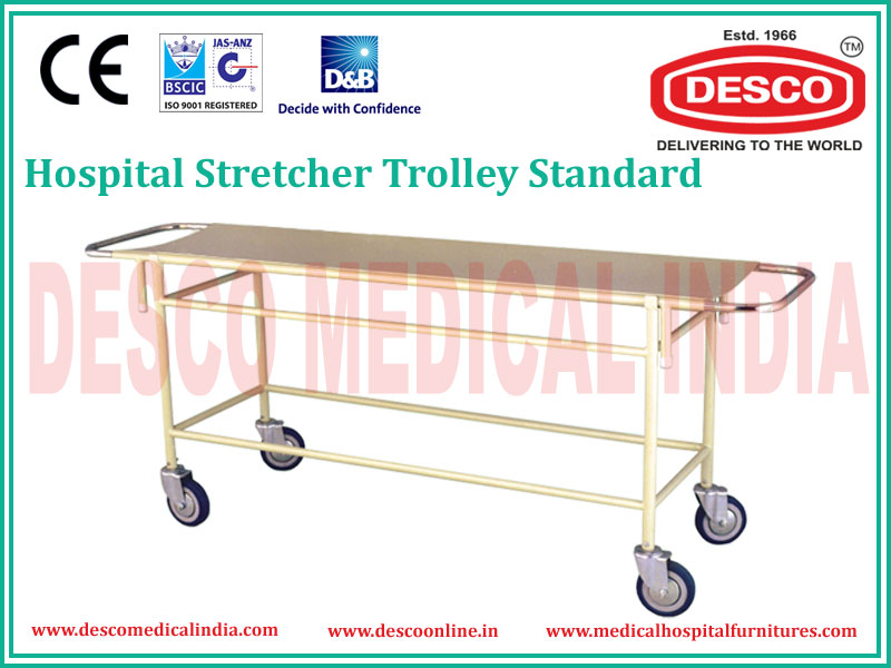 STANDARD STRETCHER TROLLEY
