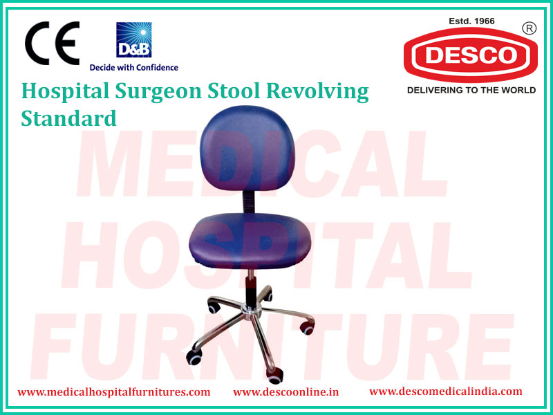 SURGEON STOOL REVOLVING STANDARD