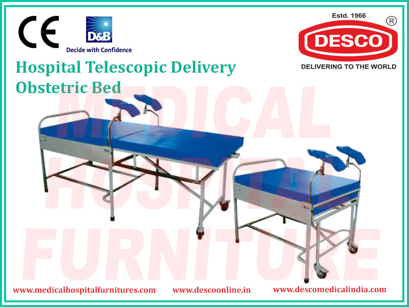 TELESCOPIC DELIVERY OBSTETRIC BED