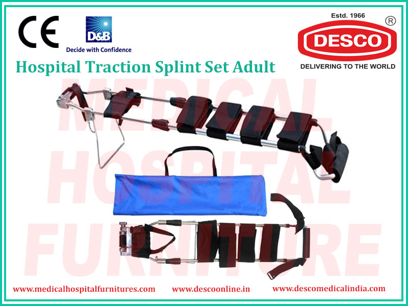 TRACTION SPLINT SET ADULT